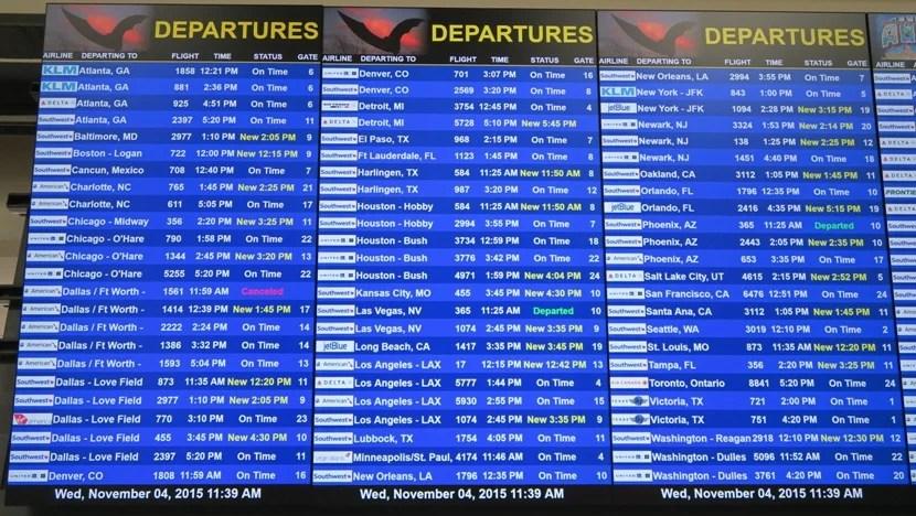 Far fewer cancellations Wednesday morning, but still plenty of delays.