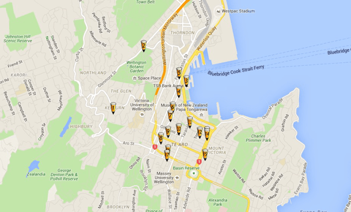 Wellington's craft beer trails will please your palate.