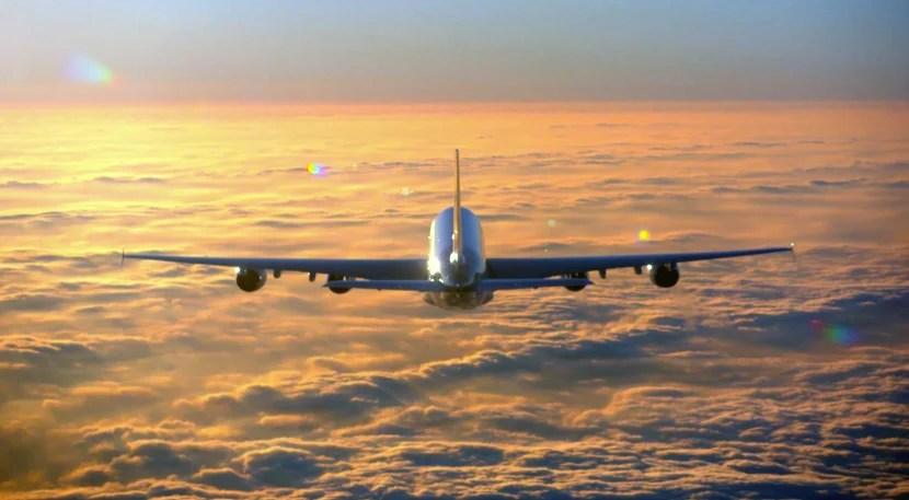 The Etihad A380.