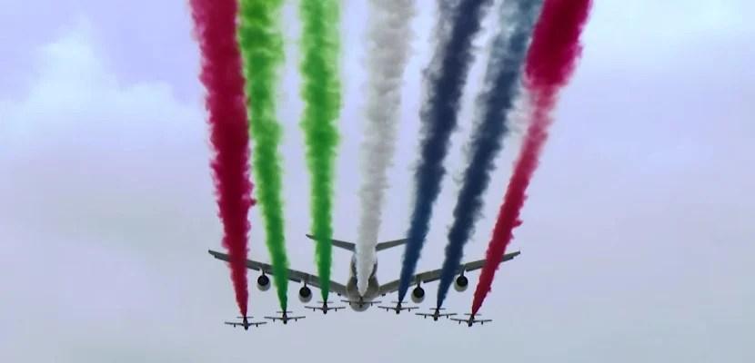 Etihad's Formula One Flyover.