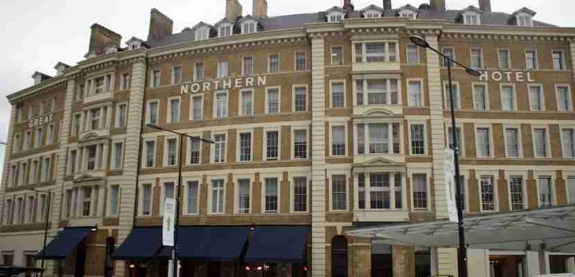 The Great Northern Hotel in London.