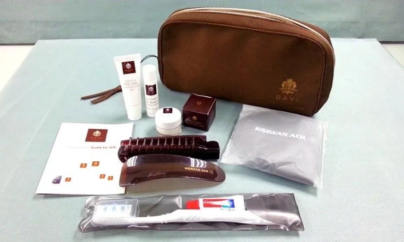 korean prestige amenity kit