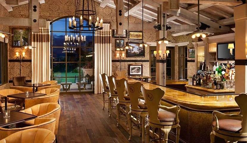 The Pony Room at the Rancho Valencia. Image courtesy of Rancho Valencia.