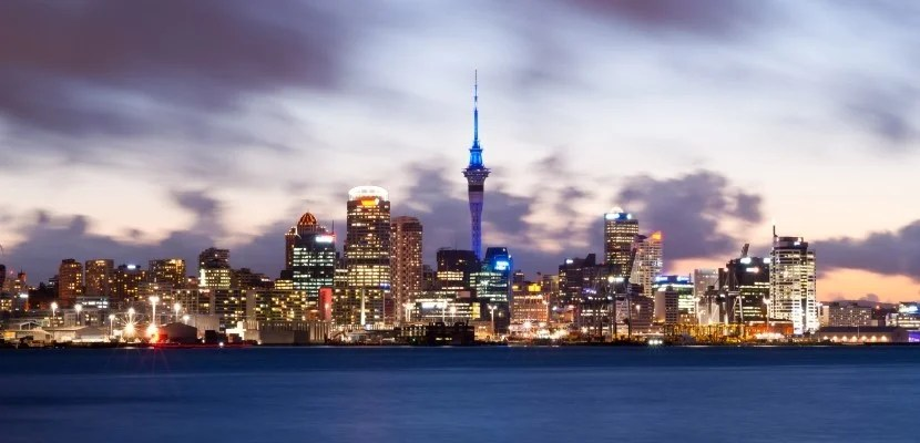 Auckland New Zealand shutterstock_110988728
