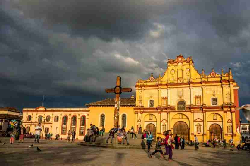 San Cristobal de las Casa in Chiapas, Mexico. Photo courtesy of Shutterstock.