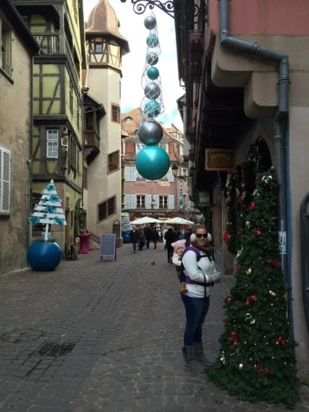 Colmar Christmas market day