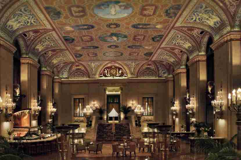 The Palmer House in Chicago.