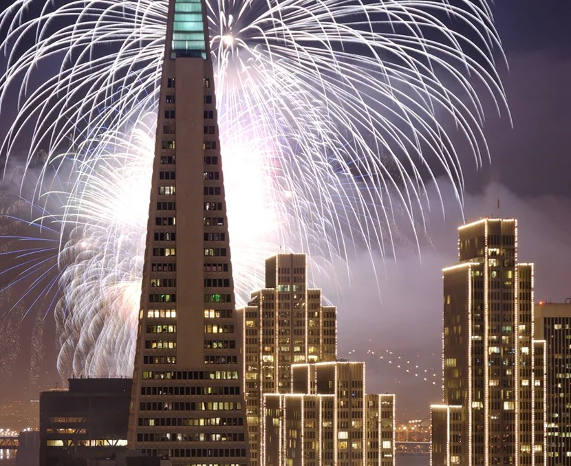 New Year's Eve Fireworks San Francisco