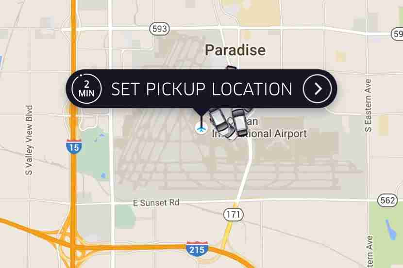 Cabs can be hard to come by, but there are plenty of Ubers at LAS!
