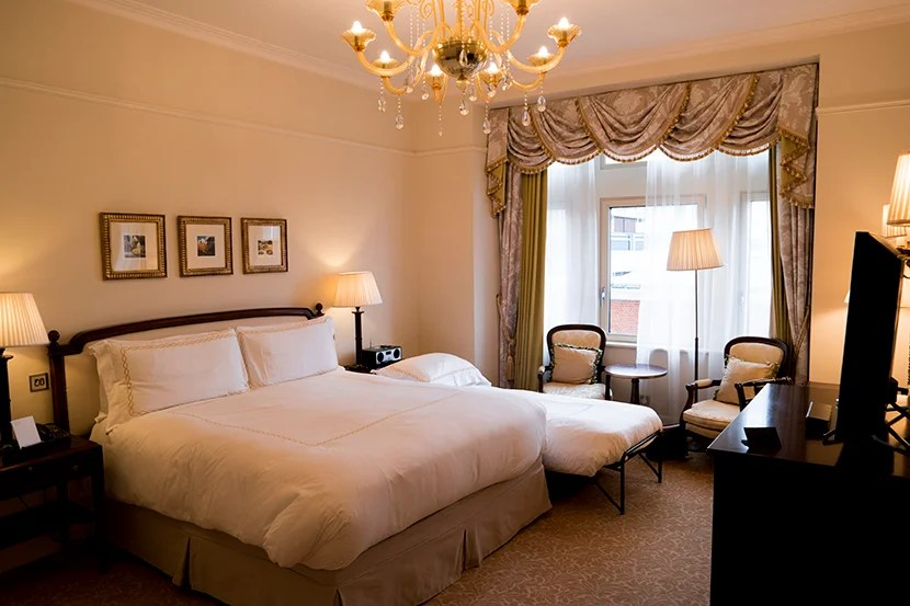 Our Deluxe King room.