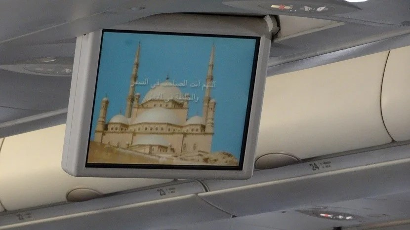 Not a typical pre-flight video for most American travelers.