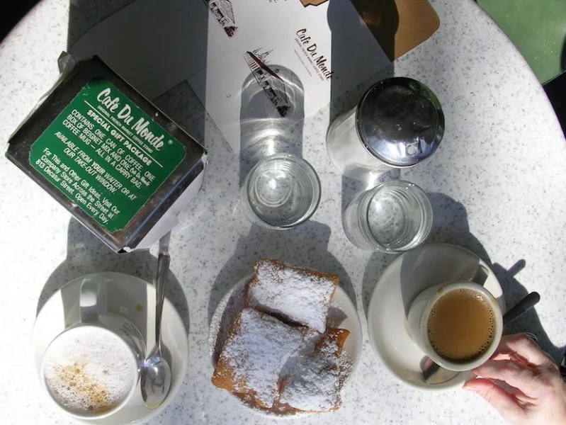 In a city full of musts, none are more important than beignets at the famous Café du Monde.