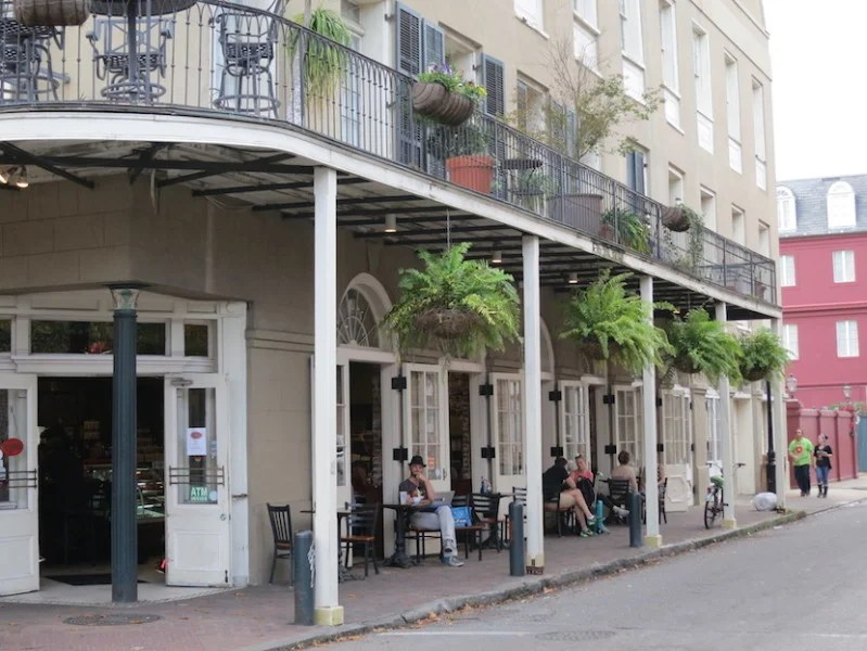 True to its European heritage, street life is one of the French Quarter's best features.