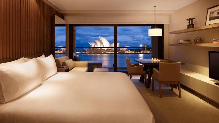 Opera Room at the Park Hyatt Sydney. Image courtesy of the hotel.