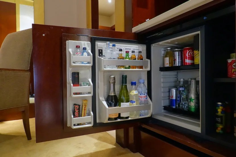 Skip the mini-bar, which is insanely expensive.