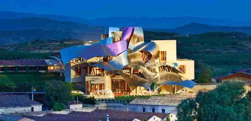 The Marques de Riscal Elciego hotel, part of Starwood