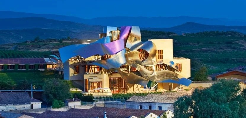 The Marques de Riscal Elciego hotel, part of Starwood's Luxury Collection.