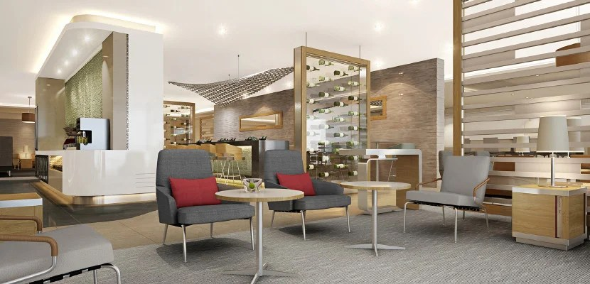 A new AA Flagship Lounge.