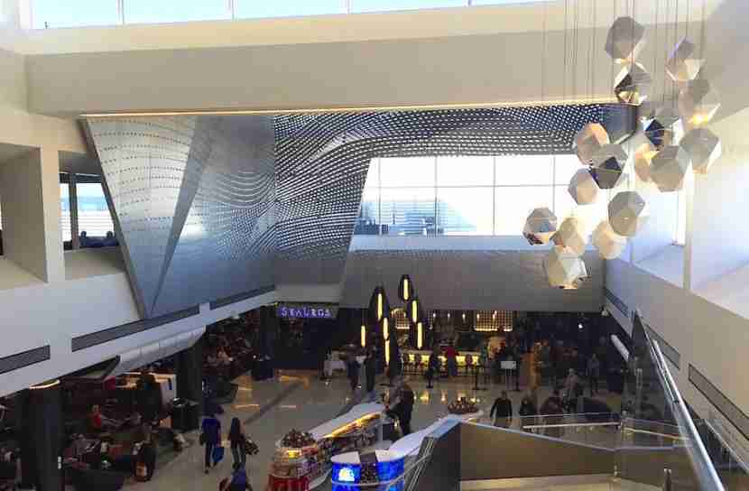 Terminal 2 at LAX was recently renovated.