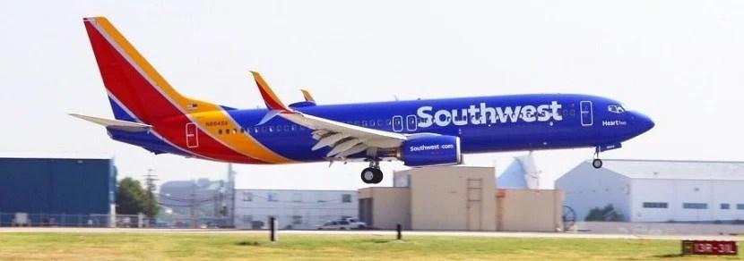 What airline has a Rapid Rewards program?