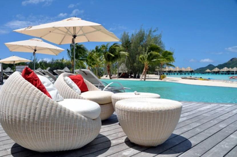 Le Meridien Bora Bora. Image courtesy of the hotel.