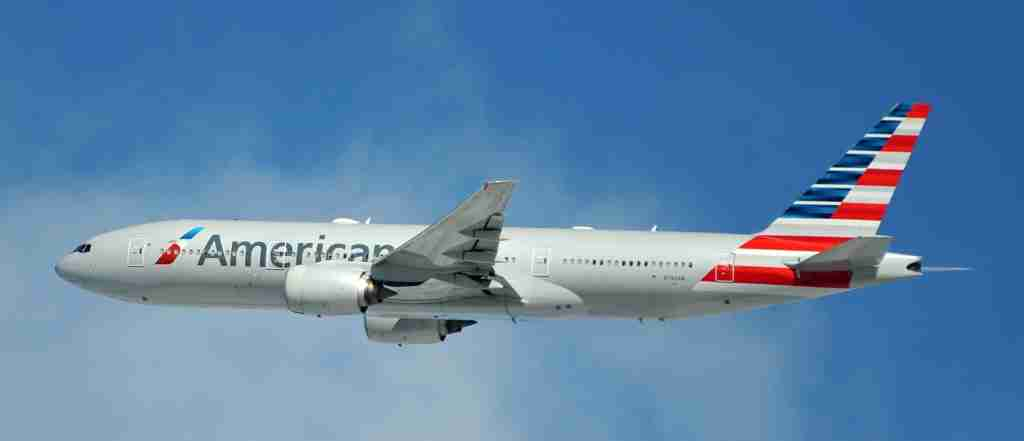 An American Airlines Boeing 777-200ER in flight (Photo by Alberto Riva/TPG)