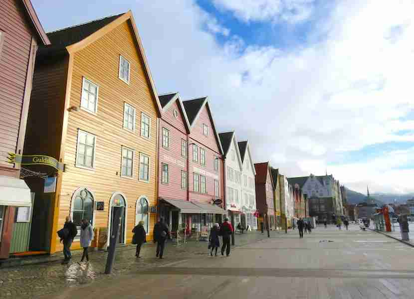 Bergen, Oslo's second-biggest city, is also home to Bryggen, a UNESCO World Heritage site
