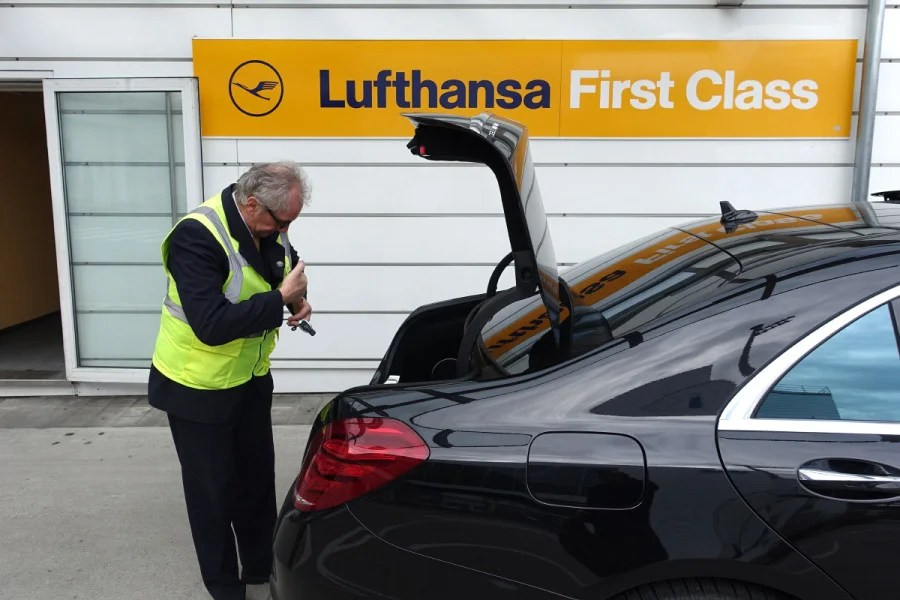 Lufthansa Ditching Mercedes for First Class Transfers
