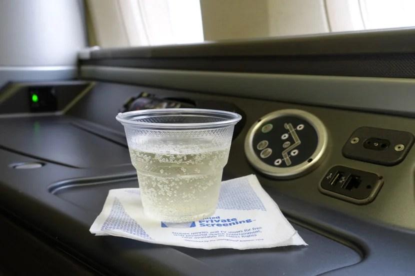 Get your pre-departure drink ahead of everyone else.