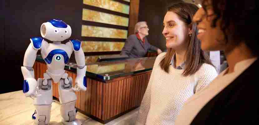 """Connie"" might be able to assist you during your next Hilton stay."