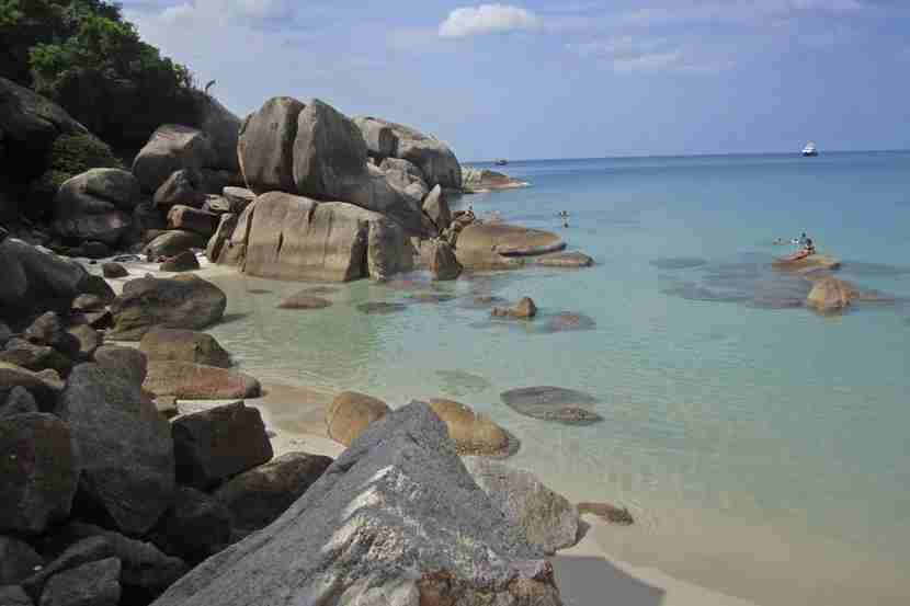 Check out Silver Beach in Koh Samui.