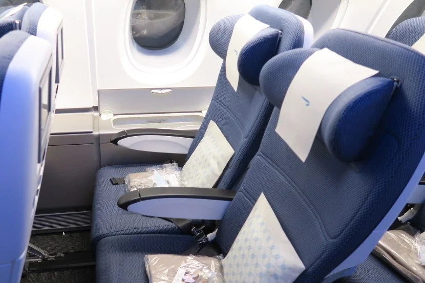 Groovy Review British Airways A380 Economy Jnblhr Bralicious Painted Fabric Chair Ideas Braliciousco