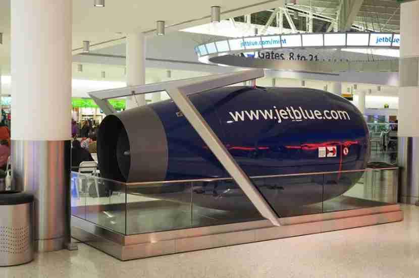 Terminal 5 at JFK.