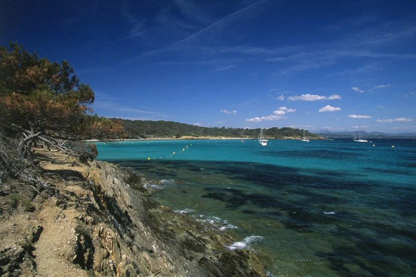 Bask on one of the beaches on the island of Porquerolles, located between Toulon and Saint Tropez. Image courtesy of Atout France/Franck Charel.