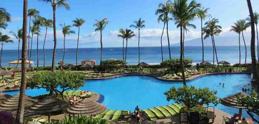 Use those extra bonus points to stay at the Hyatt Regency Maui Resort & Spa in Hawaii.