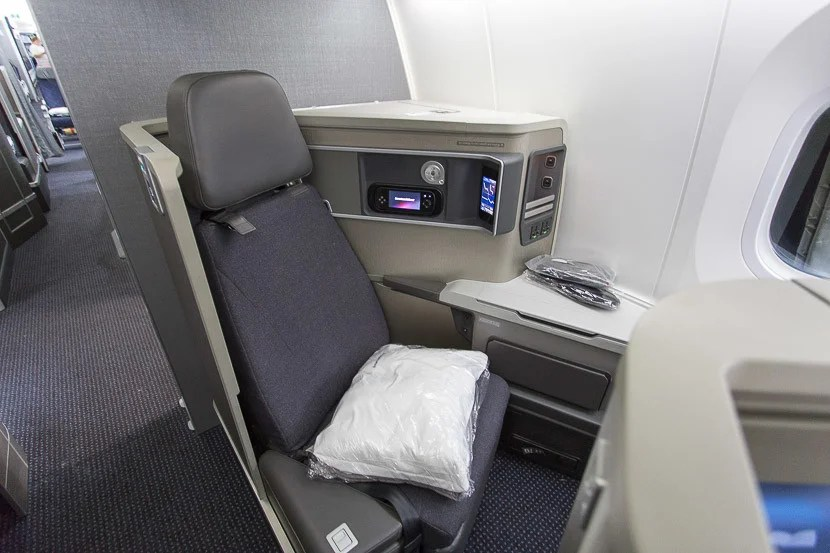 My seat, 5A, felt private since there was no seat visible directly across the aisle — but it only had one window and was near the galley.