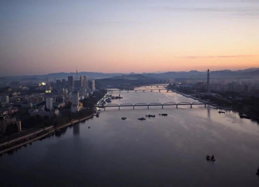 River in North Korea