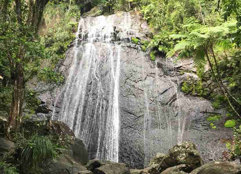 Hail a cab and set off to explore sights like the El Yunque National Forest, about an hour