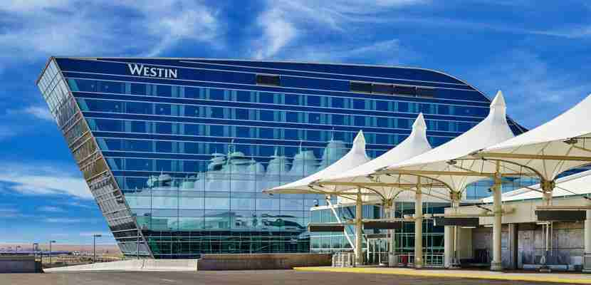 The impressive looking Westin Denver International Airport, a Starwood property.