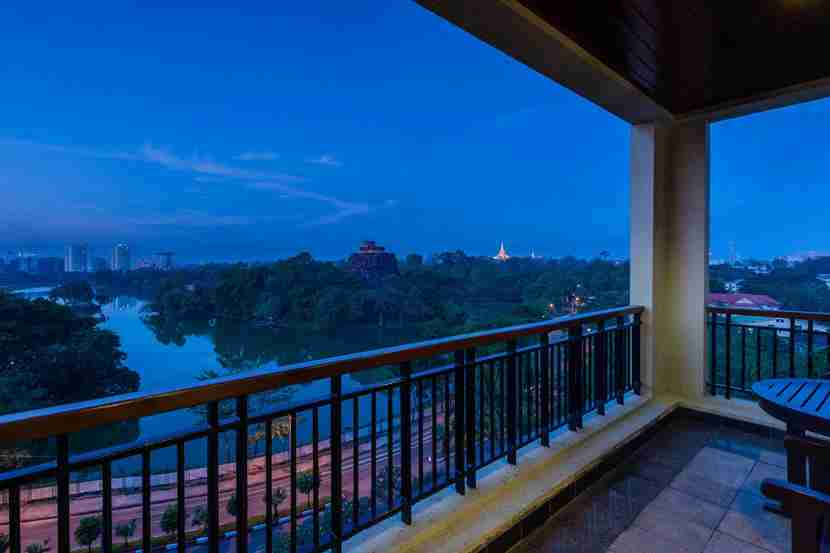 Chatrium Hotel in Yangon, Myanmar. Image courtesy of the hotel.