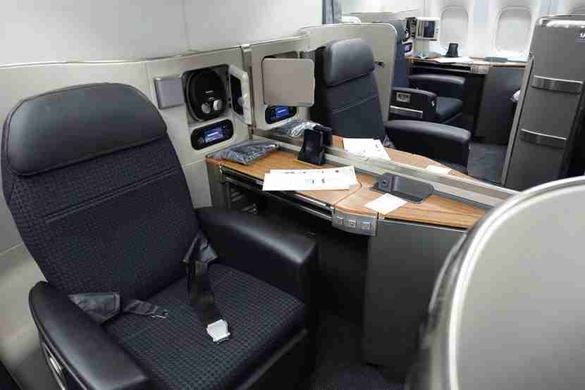 First class on AA's 777-300ER.