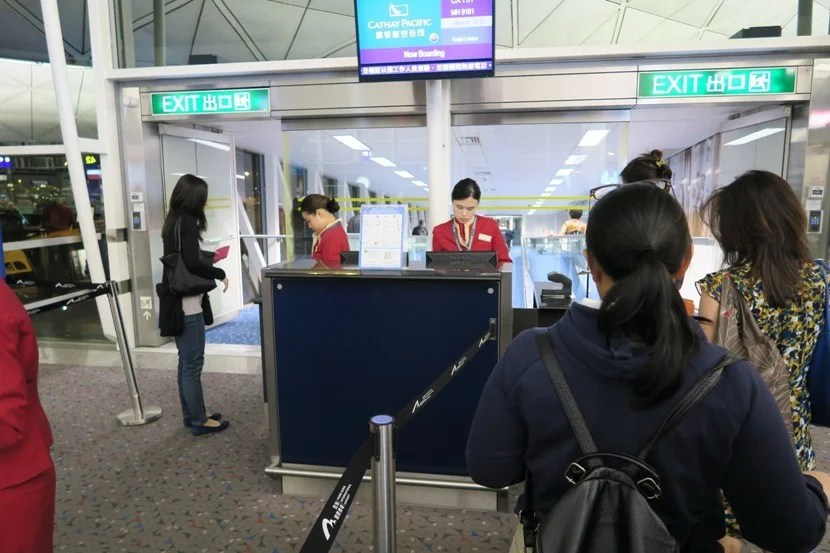 Although boarding started just 30 minutes prior to departure, it was quick and efficient.