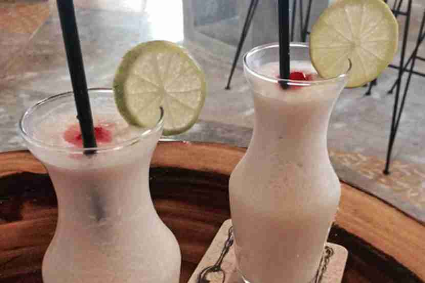 Coconut lemonade = vacation in a glass.