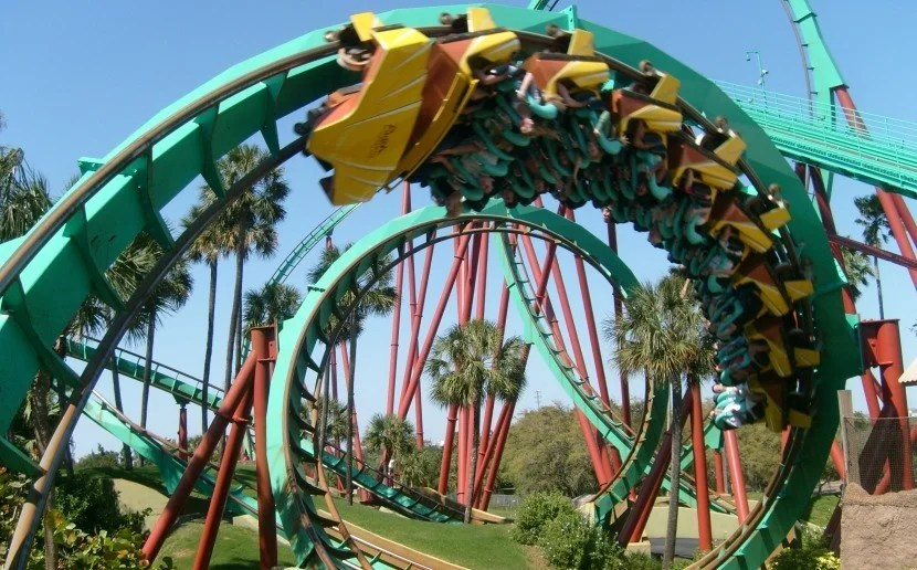 "The ""Kumba"" is a favorite of mine at Busch Gardens. Image courtesy of Christopher Down via Wikipedia."