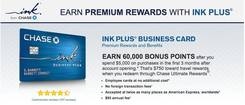 Chase Ink Plus Travel Insurance