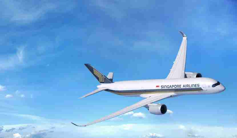 Singapore just got its first A350 last month. Image courtesy of Singapore Airlines.
