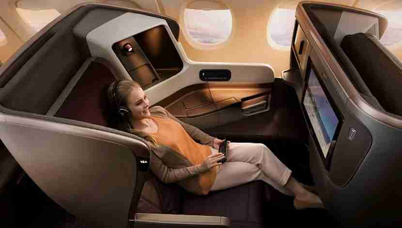 The new A350s will feature Singapore Airlines