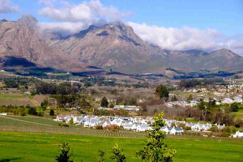 <em>Stellenbosch, outside Cape Town, is stellar. Image courtesy of the author.</em>