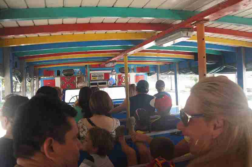 Spend a few hours (or even just one) aboard a colorful chiva in order to get the lay of Cartagena