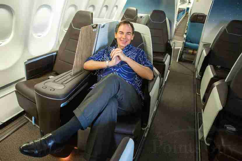 Hawaiian Air CEO Mark B. Dunkerley in the airline